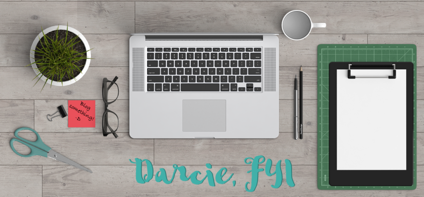 Blogging Resources from Darcie, FYI