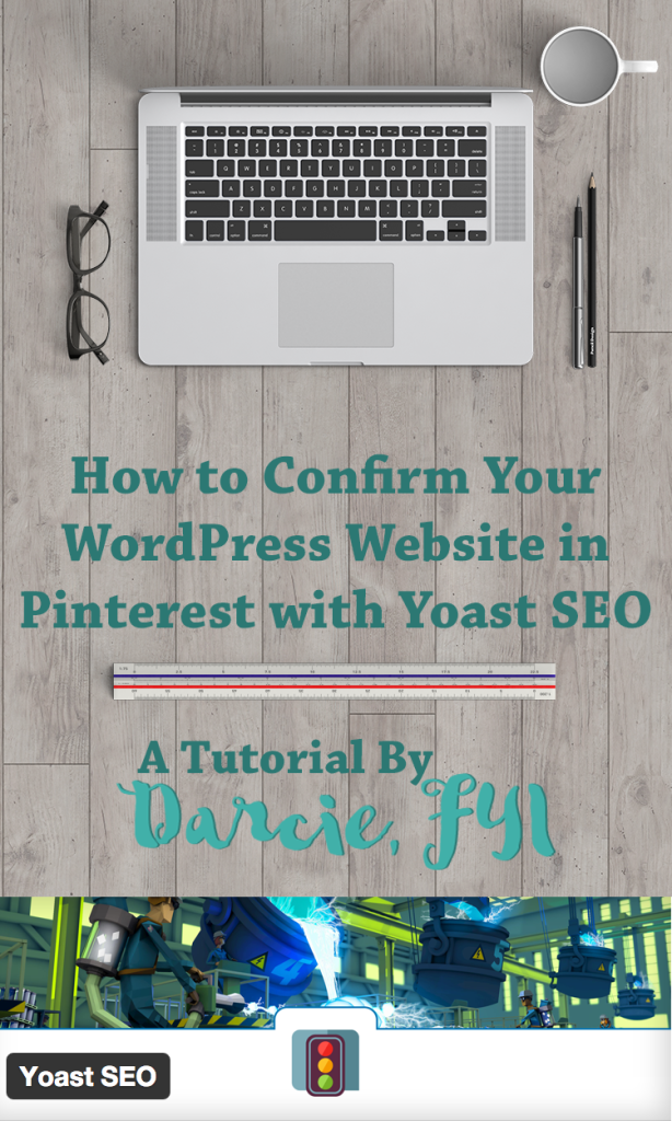 How to Confirm Your Website in Pinterest with Yoast SEO