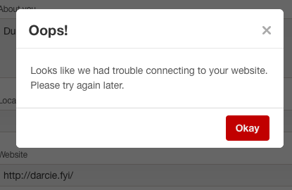 Getting a Pinterest API Not Found error? Here's how to fix it.